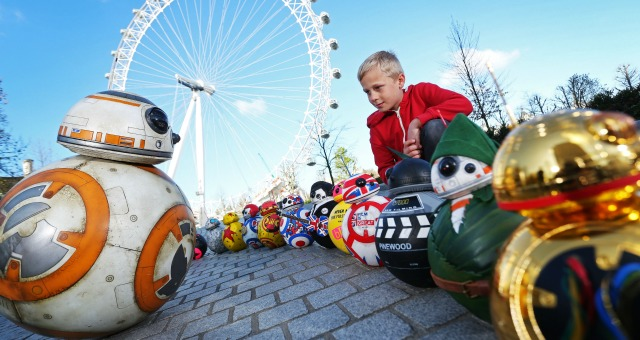 Celebrity Designed BB-8s Line Up for London Charity Exhibition