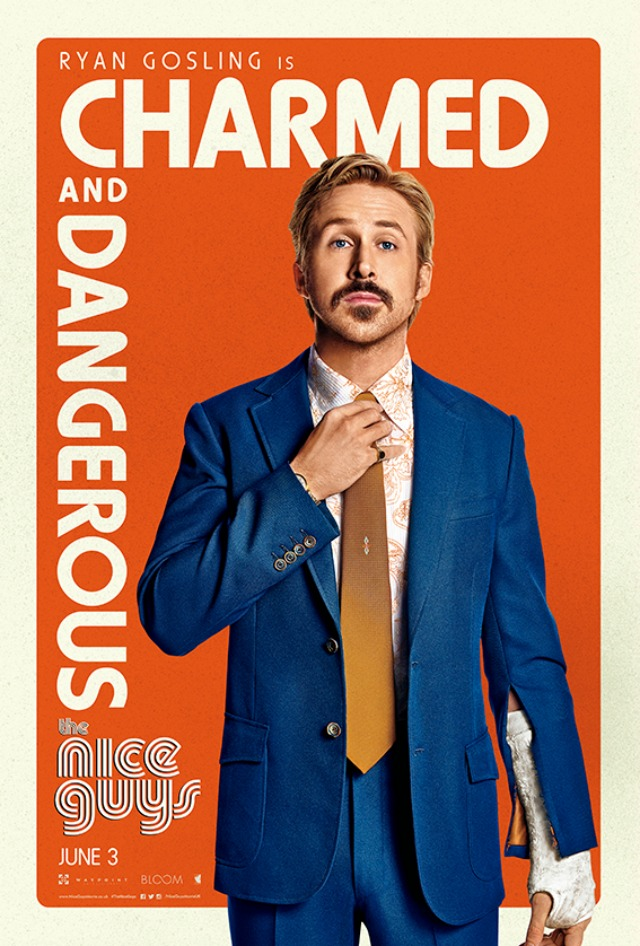 The Nice Guys Gosling Poster