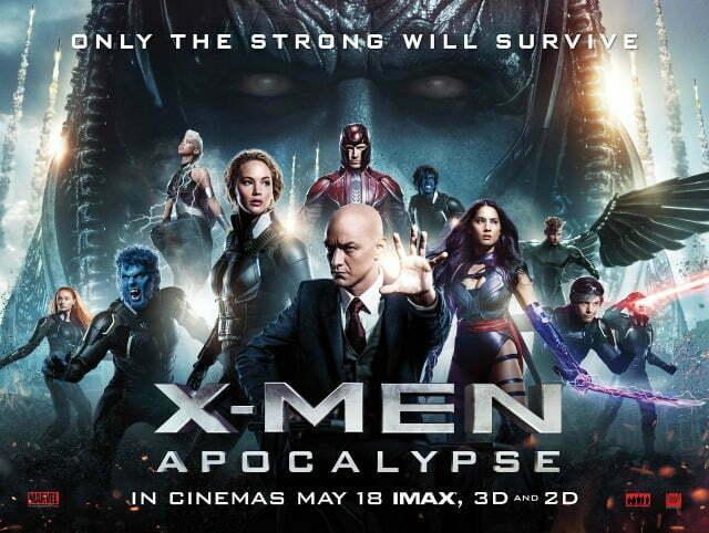 X-MEN_Apocalypse UK Qaud Poster