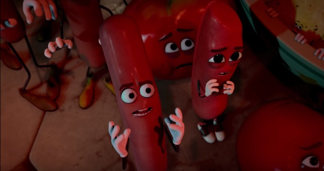 Sausage Party New UK Trailer Will Traumatise Food Forever