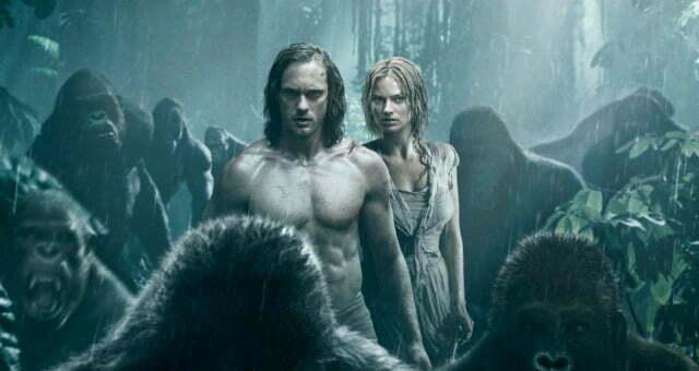 Legend Of Tarzan Goes 'Ape' In New Poster