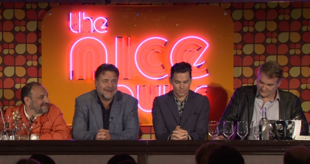 The Nice Guys   UK Press Conference