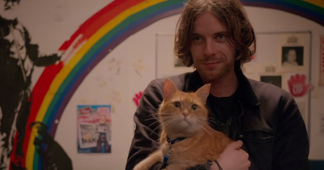 A Street Cat Named Bob Trailer Gives Luke Treadaway A 'Purr-fect Fiend'