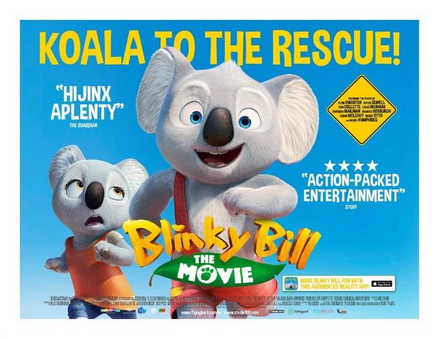 Blinky Bill The Movie Poster UK