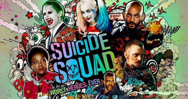 Suicide Squad Get An Explosive New 'Graphic' Poster