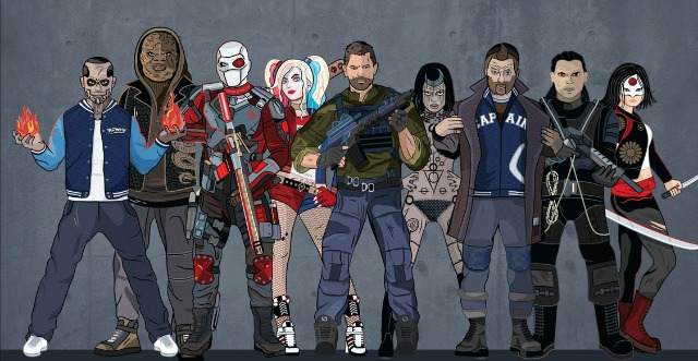 Another 'Check out Suicide Squad Infographic'