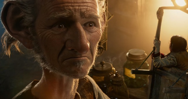 Watch New Featurette On The BFG Mark Rylance