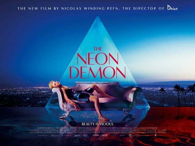 The Neon Demon UK Quad Poster