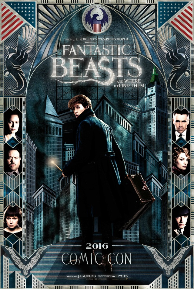 Fantastic Beasts And Where To Find Them ComicCon poster