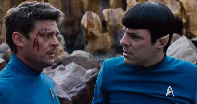 New Star Trek Beyond Clip Finds Bones And Spock In Trouble