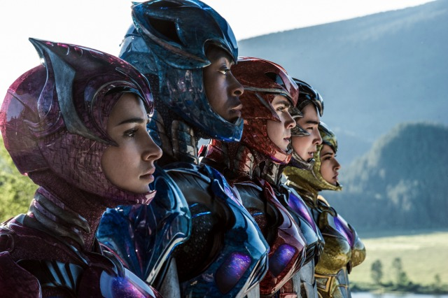 The Power Rangers Unmasked In New Image