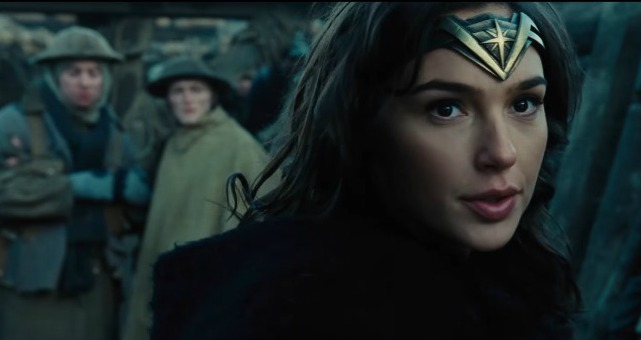 Wonder Woman New Trailer Diana Goes To War