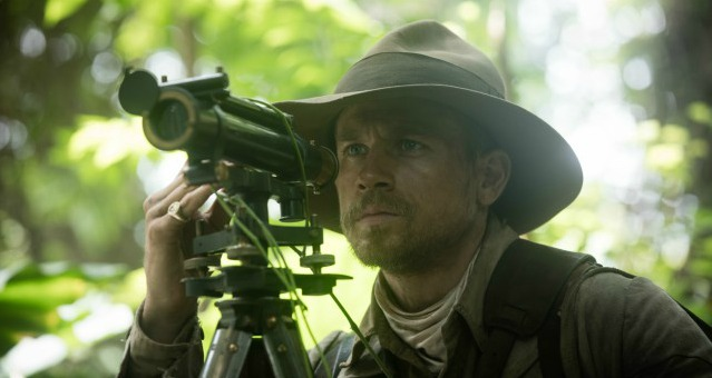 First Trailer For The Lost City Of Z Charlie Hunnam Descends Into The Amazon