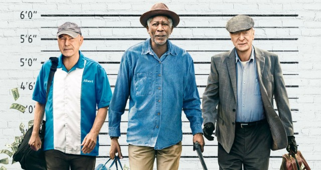 Going In Style First Trailer,Morgan Freeman,Michael Caine, Alan Arkin Rob A Bank
