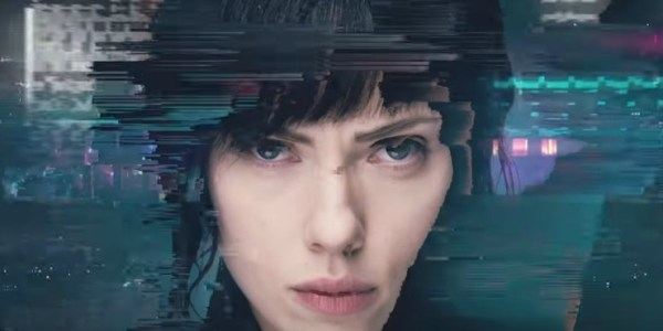 Face Up To The Truth In New  Ghost In The Shell 'Glitch' Viral