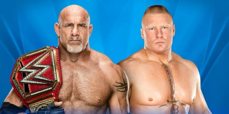 Wrestlemania 33 Match Preview: Brock Lesnar VS Goldberg For The WWE Universal Championship