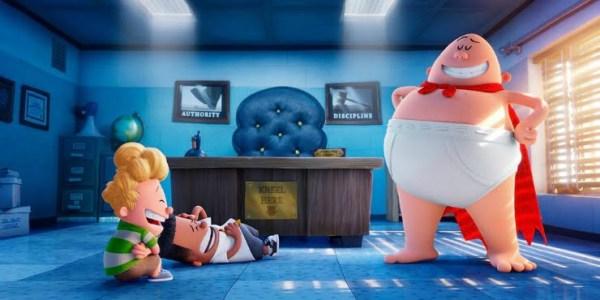 Captain Underpants Gets First UK Trailer Trah Lah Lah!