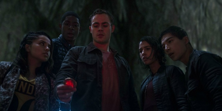 Power Rangers Go Swimming In New Clips