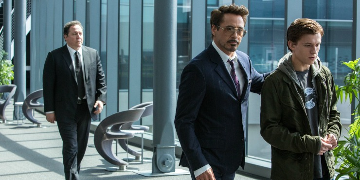 New Spiderman: Homecoming Trailer Tony Stark Mentors Peter, Gets New Suit