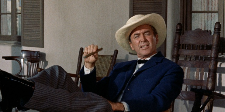 Win Classic John Ford's Two Rode Together Starring James Stewart