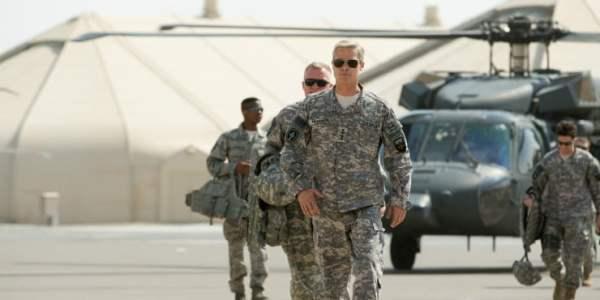 Brad Pitt Cleans Up 'The Mess' In Netflix's War Machine Trailer