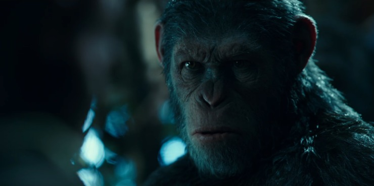 In War For The Planet Of The Apes New Trailer Caesar Wants Revenge