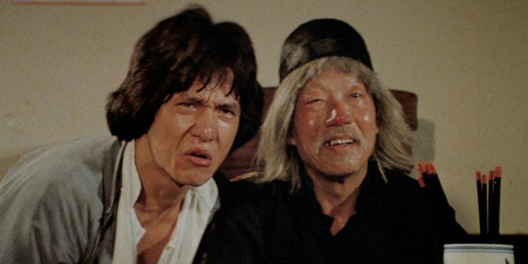 Win Jackie Chan's Drunken Master Masters Of Cinema On Dual Format