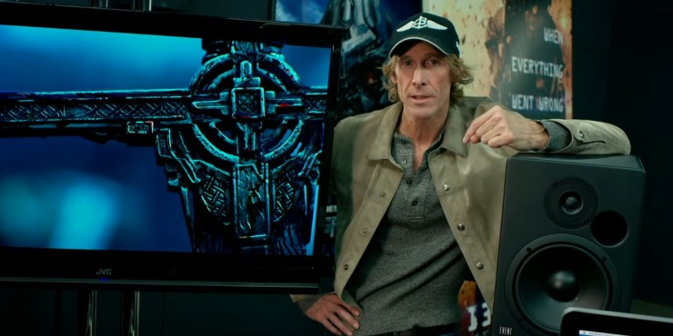 Transformers: The Last Knight Featurette 'Watch This In 3D IMAX' Michael Bay