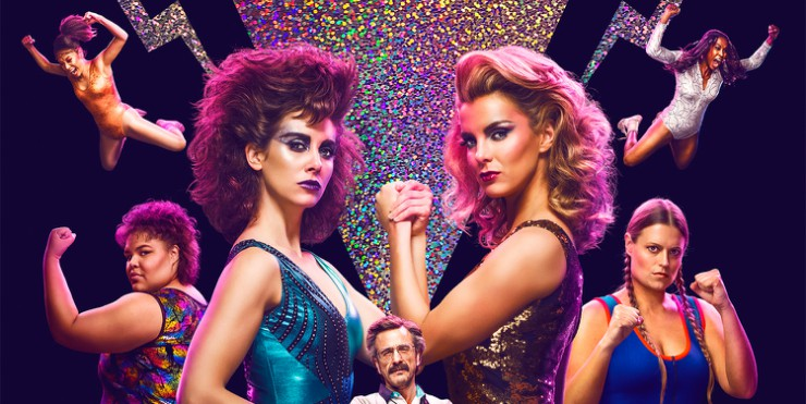 Netflix's GLOW Ladies 'Glow' In New Posters