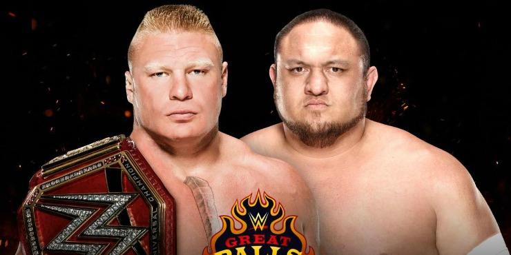 Samoa Joe VS Brock Lesnar: Dream Match?