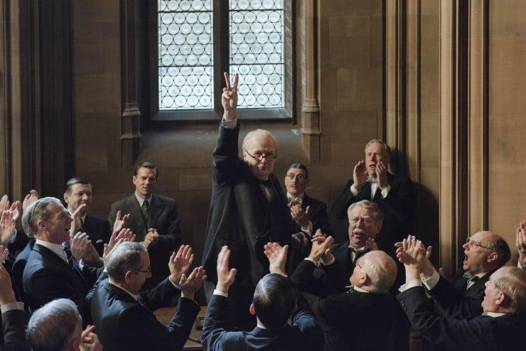 First Image For Darkest Hour Gary Oldman As Winston Churchill