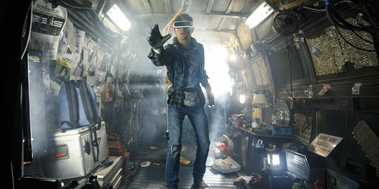 Ready Player One First Trailer Goes 'Back To The Future'