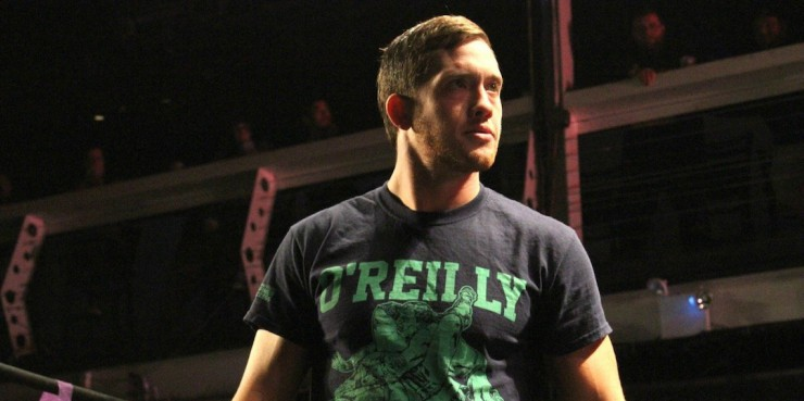 Kyle O'Reilly Makes NXT Debut At TV Tapings