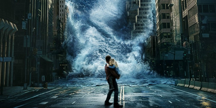 Brave The Storm Check The Poster For Geostorm