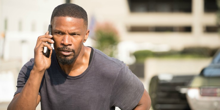Win Sleepless Starring Jamie Foxx On DVD/Blu-ray