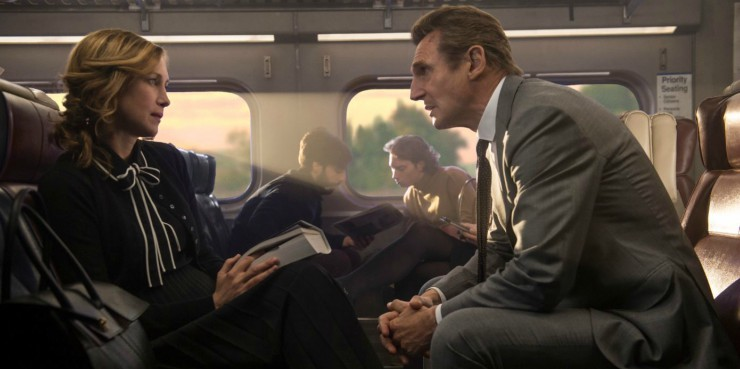 Liam Neeson's Actioner The Commuter First Trailer Looks Ludicrously Nuts