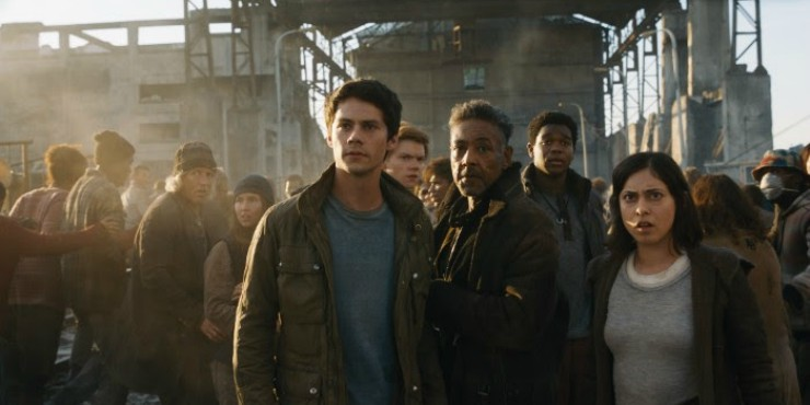 First The Maze Runner Death Cure Trailer, 'Maze Has A End'
