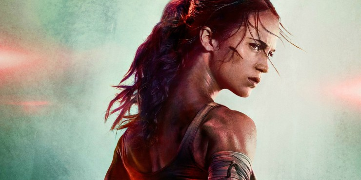 First Poster For Tomb Raider Remake Bit Of A Disaster