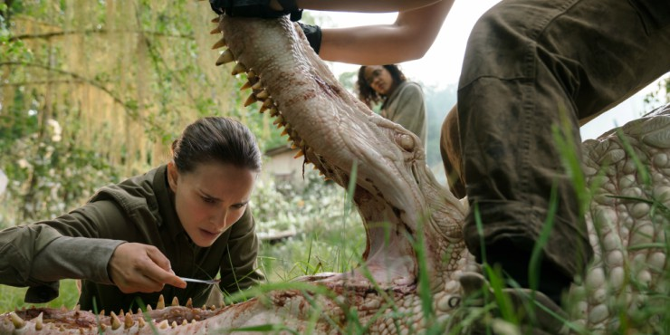 Alex Garland's Annihilation First Trailer Teases A Horrific Surreal Movie
