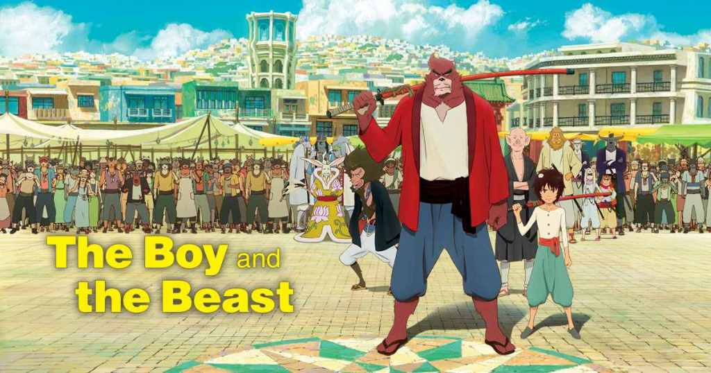 Review – The Boy and the Beast (Bakemono no Ko)
