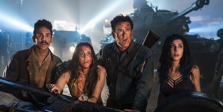 Glory, Glory Hallelujah! Win ASH vs EVIL DEAD Season 2 On DVD!