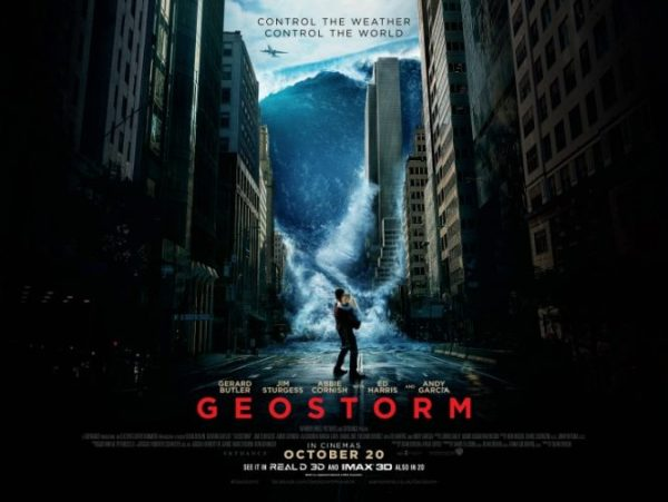 Win Geostorm Merchandise!
