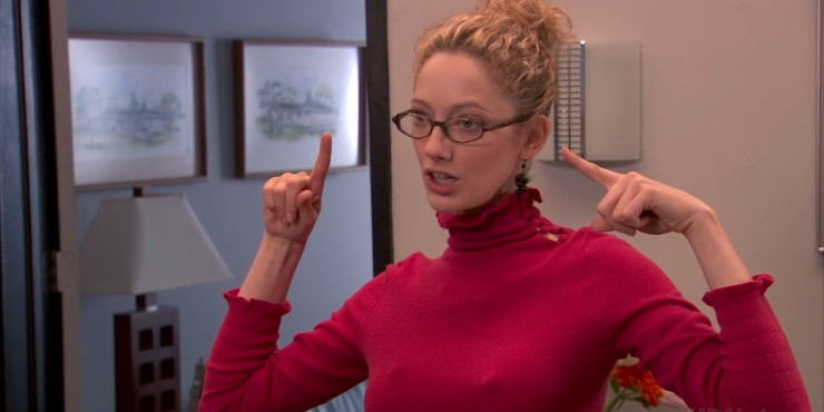 Judy Greer To Play Jamie Lee Curtis Daughter In Halloween Reboot?