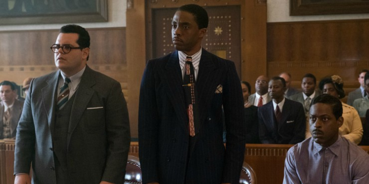 Chadwick Boseman Is A Crusader For Justice In Marshall UK Trailer