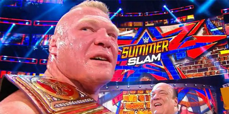 Win WWE Summerslam 2017 On Blu-ray