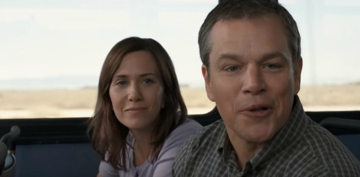 Matt Damon Finds A Bigger Purpose In Life New Downsizing Trailer