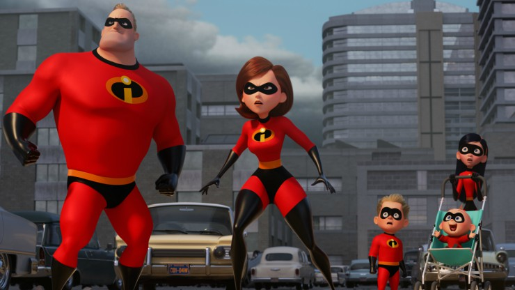 The Incredibles 2 New Trailer Pixar's Super Family Are Back!