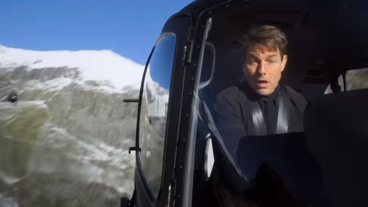 Mission Impossible: Fallout Featurette Teases The Helicopter Stunt