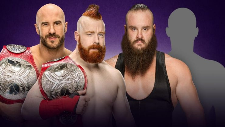 Wrestlemania 34 Preview: Cesaro & Sheamus VS Braun Strowman & Mystery Partner: WWE RAW Tag Team Championships