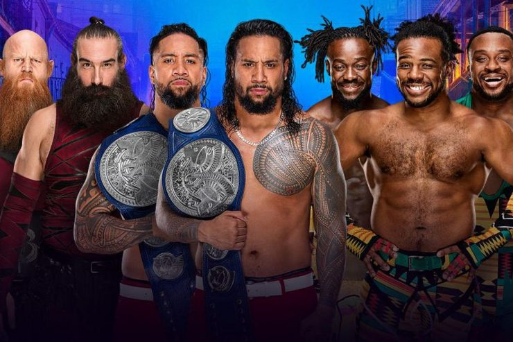Wrestlemania 34 Preview: The Usos VS New Day VS Bludgeon Brothers: WWE Smackdown Live! Tag Team Championships